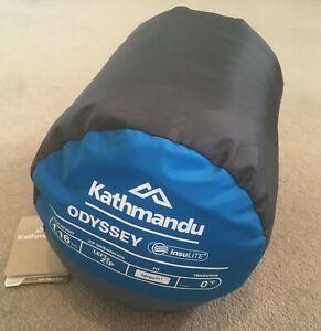 Kathmandu Odyssey Sleeping Bag Large (Blue/Grey)