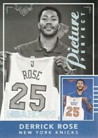 2016-17 NBA Hoops Picture Perfect #8 Derrick Rose New York Knicks