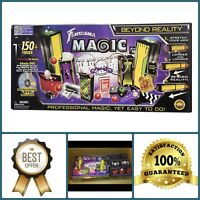 150 Tricks Kids Youth Indoor Magician Gimmick Reality Magic Set Toy Illusion Kit