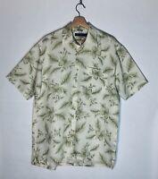 Nautica Men's Classic Hawaiian Shirt Size Medium