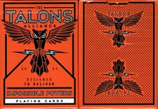 Talons Alliance Playing Cards Poker Size Deck USPCC Ellusionist Custom Limited