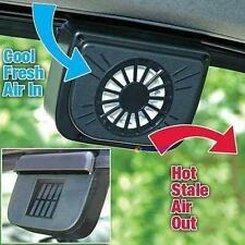Solar Power Car Window Fan Auto Ventilator Cooling Vehicle Air Vent Portable UU