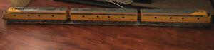 k-line electric trains, k-28901H model, A,B,A unit