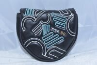 NEW Never Compromise Type 50 Sub 30 black mallet putter headcover 2 ball Odyssey