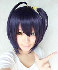 Chuunibyou Demo Koi ga Shitai/Takanashi Rikka Short Purple Black Cosplay Wigs