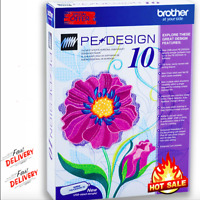 Brother PE Design 10 Embroidery Full Software 2020 LifeTime Activation + Gift 🔥