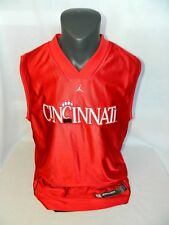 CINCINNATI Bearcats Nike Jordan Jumpman basketball Reversible Jersey Mens XL VTG