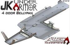 ARTEC Under Armor Belly Pan Kit 07-11 Jeep Wrangler JKU 4 Door JK1011 Raw