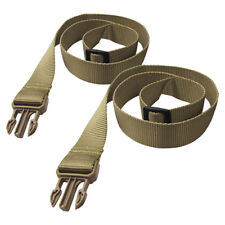 CONDOR MILITARY RIFLE SLING UPGRADE KIT DURAFLEX BUCKLED BUNGEE STRAP COYOTE TAN