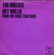 7inch THE HOLLIES hey willie HOLLAND PURPLE COVER  EX+