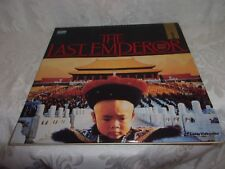 THE LAST EMPEROR COLLECTOR'S LASER VIDEO DISC PRESENTED BY COLUMBIA PICTURES