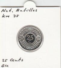 Netherlands Antilles 25 cents 2001 BU - KM35
