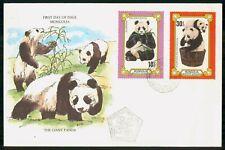 Mayfairstamps MONGOLIA FDC 1977 COVER GIANT PANDA COMBO wwk43833