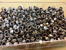 Lot de 10 Ecrous freins 6 pans acier INOX M5 neufs !!