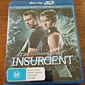 Insurgent Blu-ray Like New! – FREE POST