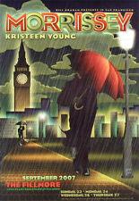 Morrissey Kristeen Young Fillmore SF Concert Poster F892 Frank Wiedemann