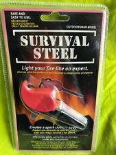 Includes Flint Striker Multi Tool /& Chunky Wooden Handle for Superior Grip zrshygs Premium Ferrocium Rod Firesteel