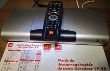 décodeur tv TNT HD  Sfr  Netgem 7600 En Très Bon État+1 Câble Hdmi -Envoi Rapide