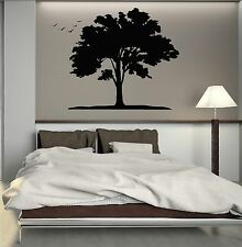 Wall Decal Tree Forest Birds Nature Park Woodland Vinyl Stickers (ig2773)