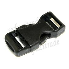 New 20mm Plastic Side Quick Release Buckle Clip Cord Strap Backpack Bag Suitcase