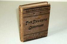 New York State First Ed 1878 Regents Questions Rare Only 1000 Copies Printed