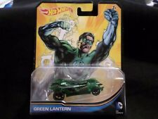 2015 HW HOT WHEELS DC UNIVERSE GREEN LANTERN HOTWHEELS GREEN NEW RELEASE