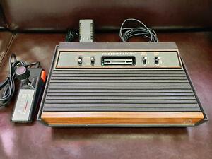 Atari VCS 2600 Konsole Holzoptik