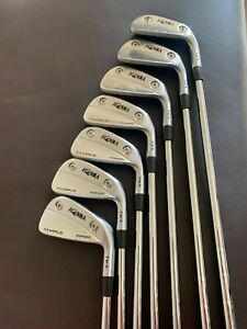 HONMA TOUR WORLD TW-X FORGED Irons NEW CONDITION 4 -PW REG STEEL SHAFTS