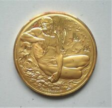 UK, John Pinches, Silver Proof , Shakespeare Medal, 45 mm , 41 gr {E679}