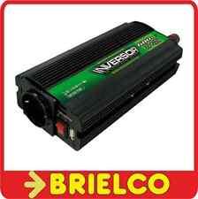 CONVERTIDOR INVERSOR TENSION 24VDC A 220VAC USB 5VAC 600W MECHERO PINZAS BD6584