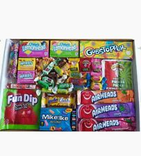 American Candy Gift Hamper Box   USA Sweets Gobstopper   Mini Nerds