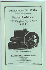 Stationary Engine Manuals & Books
