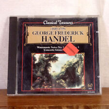 Klaus-Peter Hahn George F Handel Watermusic Concerto Grosso CD playgraded