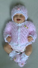 Jacke Mütze Schuhe Set Puppenkleidung Baby Born Reborn Babypuppe Set 40-45 cm