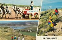 Postcard - Brean Sands - 3 Views