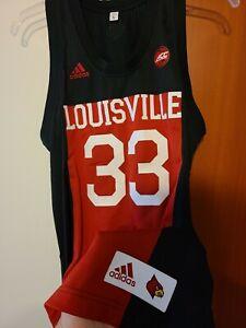 2019-20 Louisville Cardinals Live # 33 Authentic Jersey Size L Jack Harlow