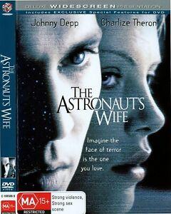 The Astronaut's Wife DVD (Region 4) Deluxe Widescreen Presentation Johnny Depp