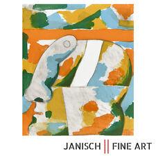 """HORST ANTES """"Dekorativer Kopf"""" Farblithographie, handsigniert, Auflage 115, 1967"""