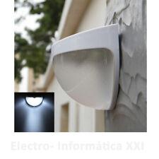 Aplique Pared Foco Solar Luz 6 Led Bateria 1000mAh Jardin Terraza Envio 48-72H.