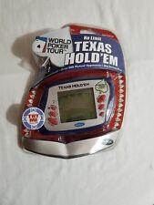 Radica No Limit Texas Hold Em World Poker Tour Electronic Handheld Game NEW 2005