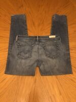 Adriano Goldschmied Jeans Stilt Cigarette Leg Light Blue Size 27R