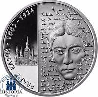 Deutschland 10 Euro Franz Kafka 2008 Silber-Gedenk-Münze Spiegelglanz