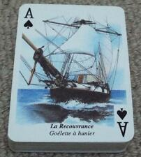 Voiles d'Autrefois - Sails of Yesteryear - 2000 Pack of Pictorial Playing Cards