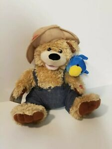 Chantilly Lane Pete & Tweet Duet Zip-A-Dee-Doo-Dah Singing Plush BearBlue Bird