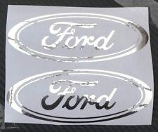 Ford Car Chrome sticker Fiesta Mondeo Focus KA door bumper