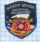 Fire Patch - Sandy Mush Volunteer Fire Department