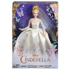 2015 Mattel Disney Princess Cinderella Live Action Wedding Day Dress Movie Doll