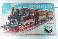 MARKLIN  HO COFFRET MARCHANDISES LOCO ÉLECTRIQUE TRANSFO REF 2943  À RÉVISER