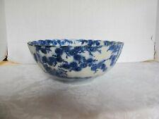 Antique Asian Blue & White IMARI Export Porcelain Bowl w/Dragons