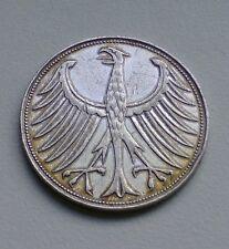 """BRD 5 DM """"Silberadler"""" 1951 J -!! TOP für Sammler  !! Zugreifen. !!"""